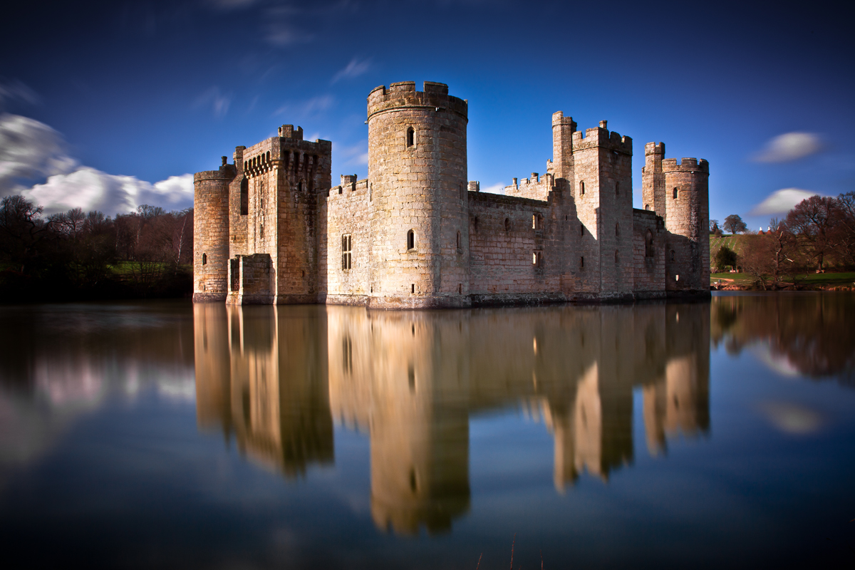 Bodiam Castle Long Exposure