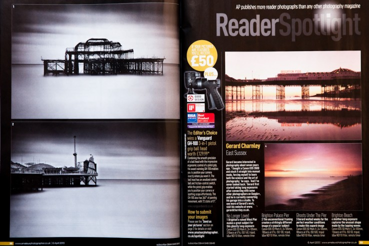 Amateur Photographer Feature Magazine Scan